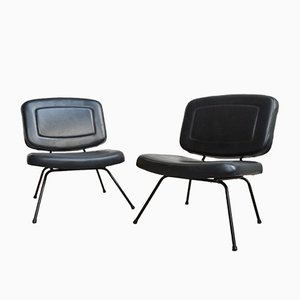 Französische Vintage CM190 Stühle von Pierre Paulin für Thonet, 2er Set