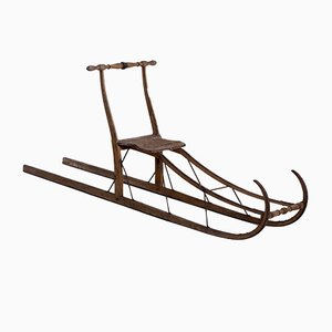 Antique 19th-Century Swedish Sled