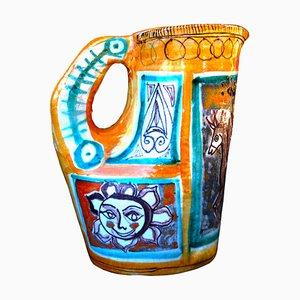 Vintage Pitcher Vase by Elio Schiavon, 1950s