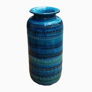 Vase aus der Rimini-Serie von Bitossi für Aldo Londi, 1950er