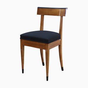 Biedermeier Solid Cherry Chair, 1820s