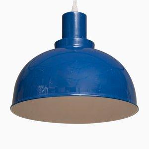 Weiße dänische Vintage Deckenlampe