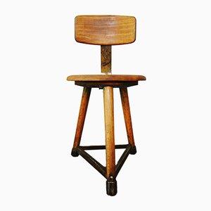 Chaise d'Atelier Industrielle Vintage de Ama Elastik, 1960s