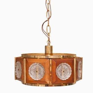 Dänische Vintage Deckenlampe