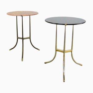Table d'Appoint en Granit et Cuivre par Cedric Hartman, 1970s