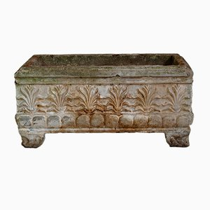 French Neoclassical Stone Cast Planter around 1900