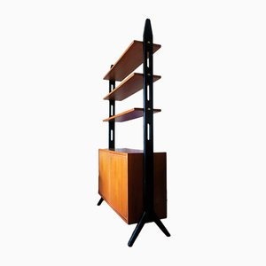 Freestanding Shelving Unit by Bertil Fridhagen, 1950s