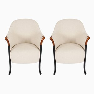 Armchairs from Giorgetti, 1980s, Set of 2