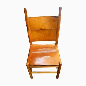 Kentucky Dining Chair by Carlo Scarpa for Bernini, 1970s