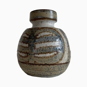 Dänische Vintage Keramikvase von Noomi Backhausen für Søholm