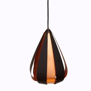 Lámpara colgante de Werner Schou para Coronell Elektro, años 60