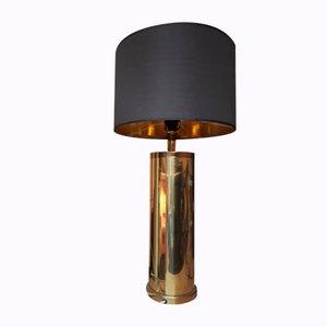 Lampe de Bureau Vintage en Métal Doré