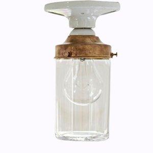 Vintage Glaslampe von Deborah Ehrlich