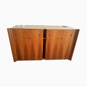 Vintage Scuderia Sideboard by Carlo Scarpa for Bernini