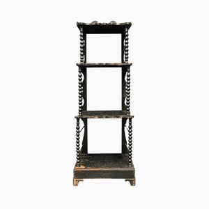 Black Victorian Shelf, 1850s