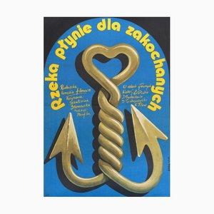 Affiche de Film Anchor Love, Pologne, 1986