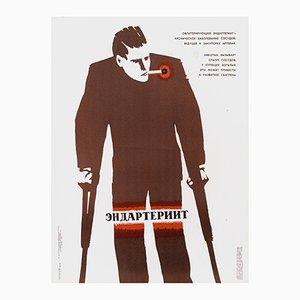 Sowjetisches Anti-Raucher-Poster, 1974