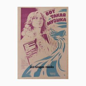 Affiche Musique URSS, 1980s