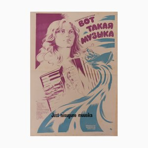 Poster musicale, URSS, anni '80