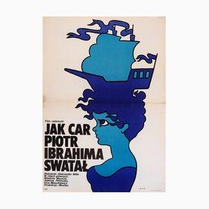 Polnisches Filmposter von Maciej Zbikowski, 1977