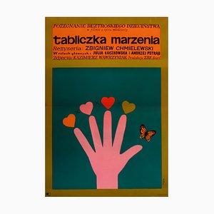 Affiche de Film Plate Dreams par Jerzy Flisak, 1968