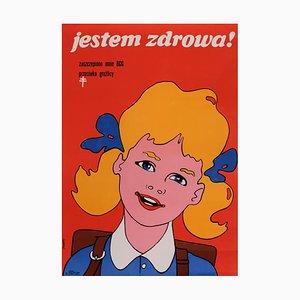 Poster della salute, Polonia, anni '70