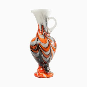 Mid-Century Italian Colored Glass Vase by Carlo Moretti, 1970s
