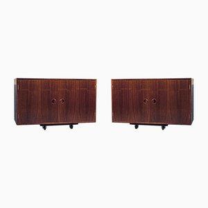 Mid-Century Palisanderschränke von Thygesen & Sørensen für HG Furniture, 2er Set