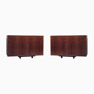 Mid-Century Rosewood Cabinets by Thygesen & Sørensen for HG Furniture, Set of 2