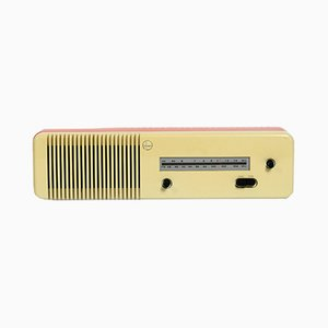 Italian Space Age R45 Mivar UKW / MW Radio, 1960s