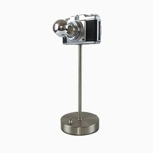 Vintage Agfa Silette Pronto Kamera Tischlampe
