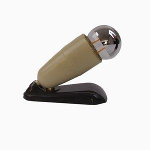 Umgewandelte Mikrofon-Tischlampe