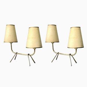 Lámparas de mesa de Lunel, años 50. Juego de 2