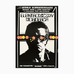 Affiche de Film The Terminator par Jakub Erol, Pologne, 1987