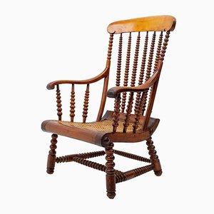 Antiker englischer Bobbin Chair