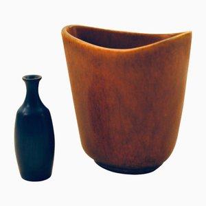 Vases par Gunnar Nylund pour Nymolle, Danemark, 1950s, Set de 2