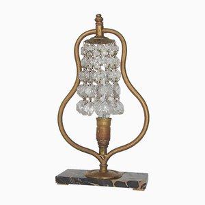 Jugendstil Tischlampe, 1960er