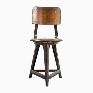 Vintage Industrial Side Chair, 1930s