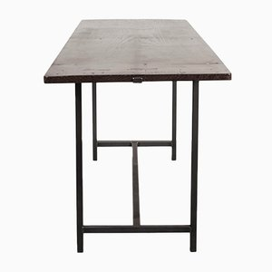 Modernist Spanish Fruitwood Dining Table, 1930s