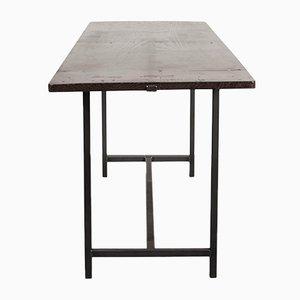 Tavolo da pranzo modernista in legno, Spagna, anni '30