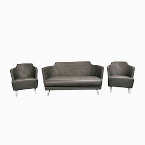 Julez Sofa & 2 Armchairs Set by Enrico Franzolini for Moroso, 2000s