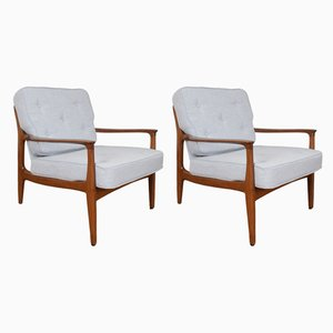 Lounge Chairs by Eugen Schmidt for Soloform, 1960s, Set of 2