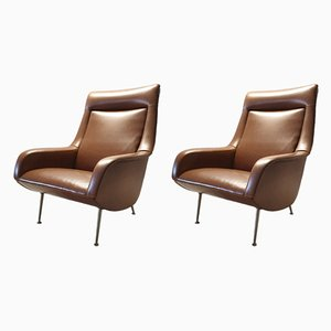 Armchairs by Bengt Ruda for Artifort, 1960s, Set of 2