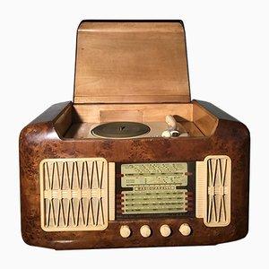 FO119 Plattenspieler Radio von Radiomarelli, 1950er
