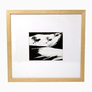 Black & White Landscape Photograph by Mario Giacomelli, 1994