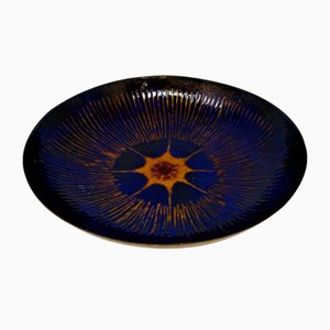 Enamelled Copper Bowl from Laurana Pesaro, 1960s