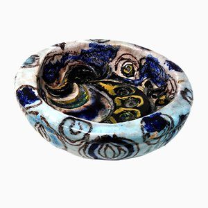 Ceramic Bowl by Leda Melandri, 1950s