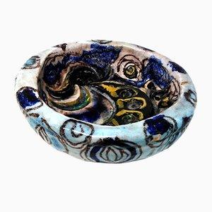 Keramikschale von Leda Melandri, 1950er