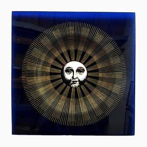 Plateau par Piero Fornasetti, Barnaba Fornasetti pour Compagnia del Tabacco, 1990s