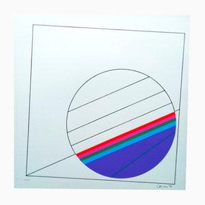 Screen Print by Eugenio Carmi for Galleria Segnapassi, 1970s
